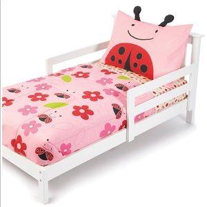 Skip Hop Ladybug Toddler Bedding set